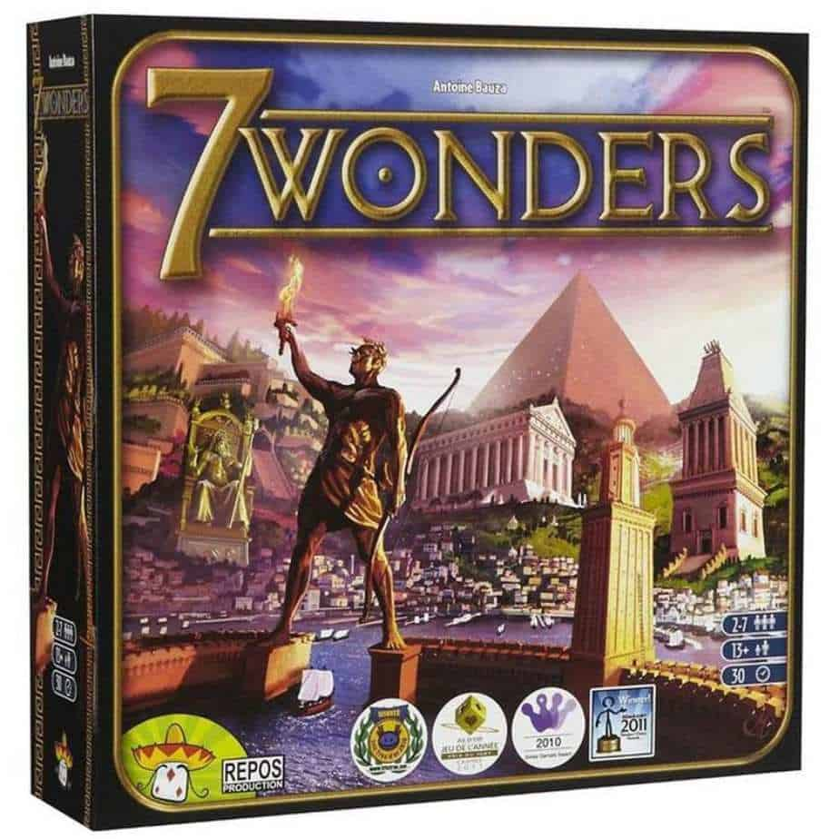 Board Games for Geeks - 7 Wonders Board Game - Toys for Geeks