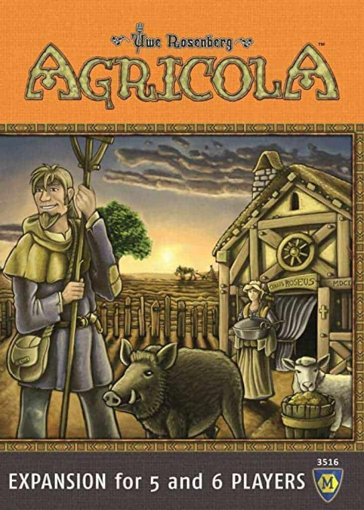 agricola - best board games for geeks