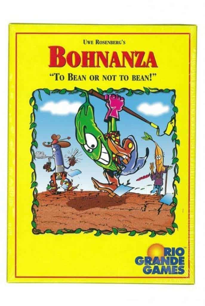 bonanza - farming board game - best board games for geeks