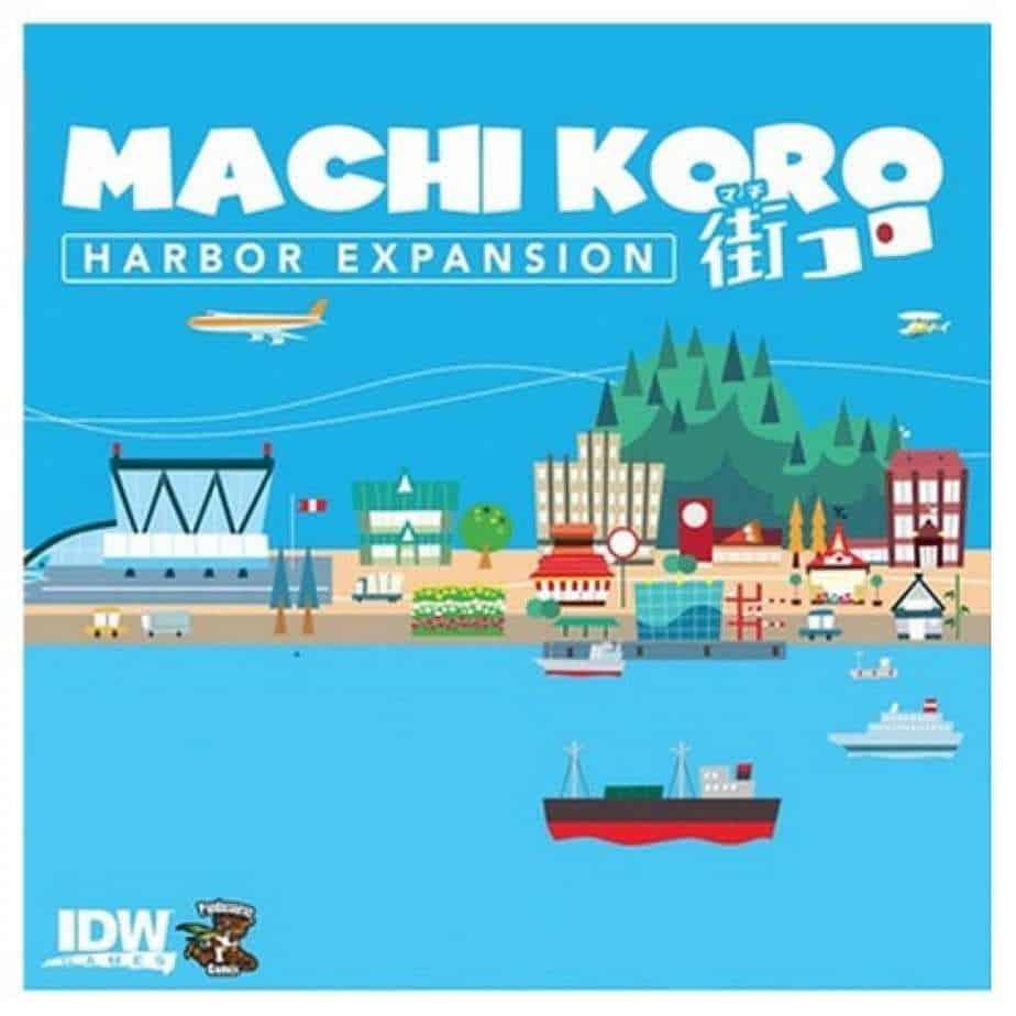 Machi Koro - Japanese board games - board games for geeks
