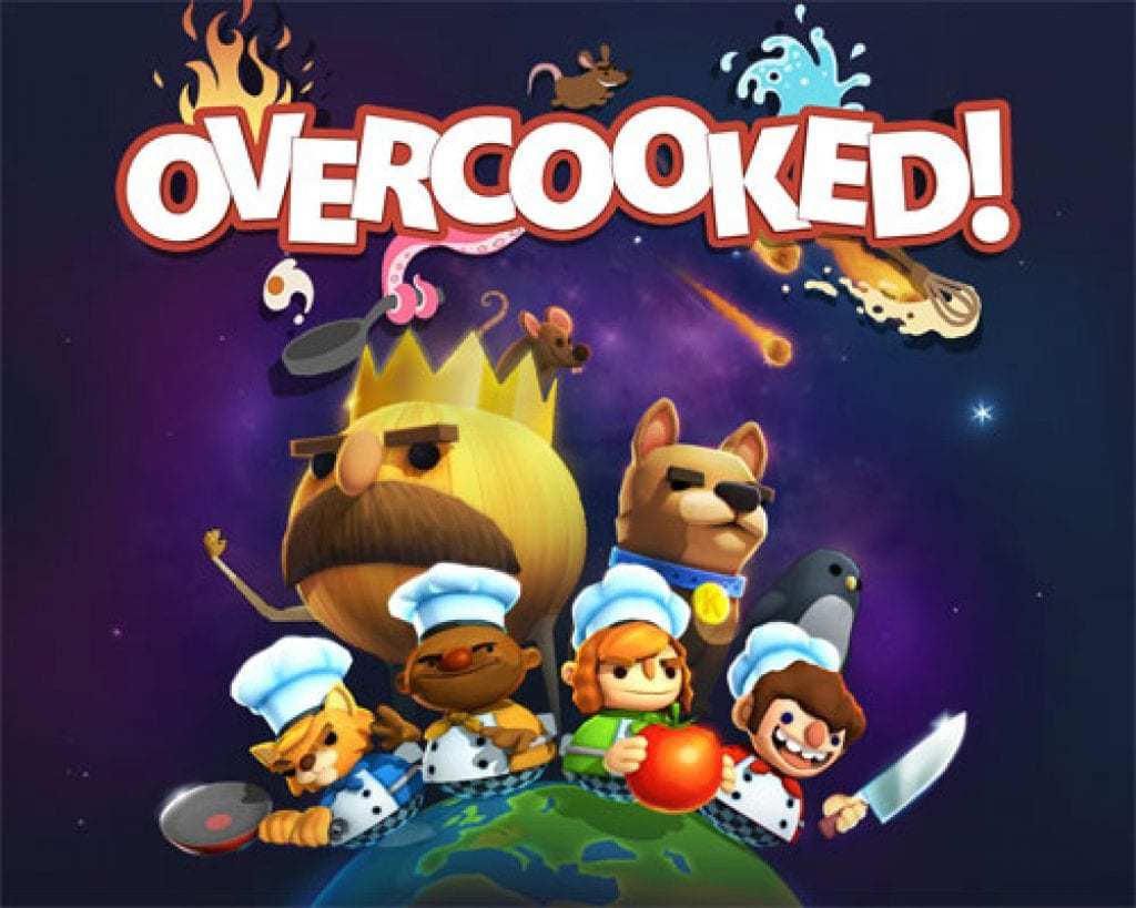 overcooked - best coop Nintendo Switch games - the geek street