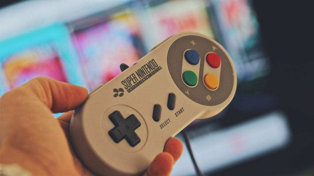 SNES games for geeks - SNES controller
