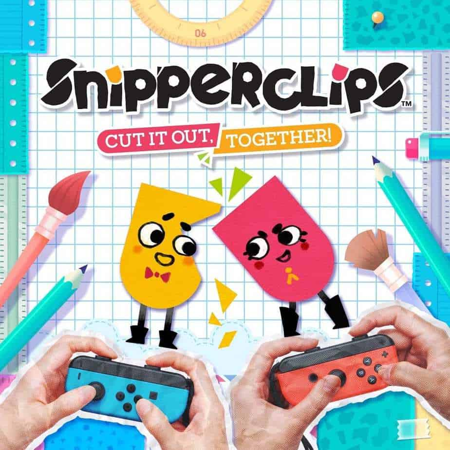 snipperclips - best coop Nintendo Switch games