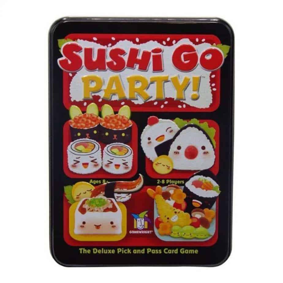 sushi go - best board games for geeks - the geek street