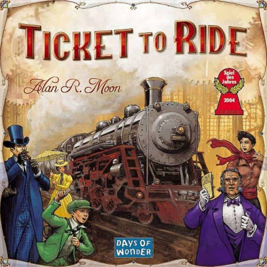 ticket to ride - best board games for geeks