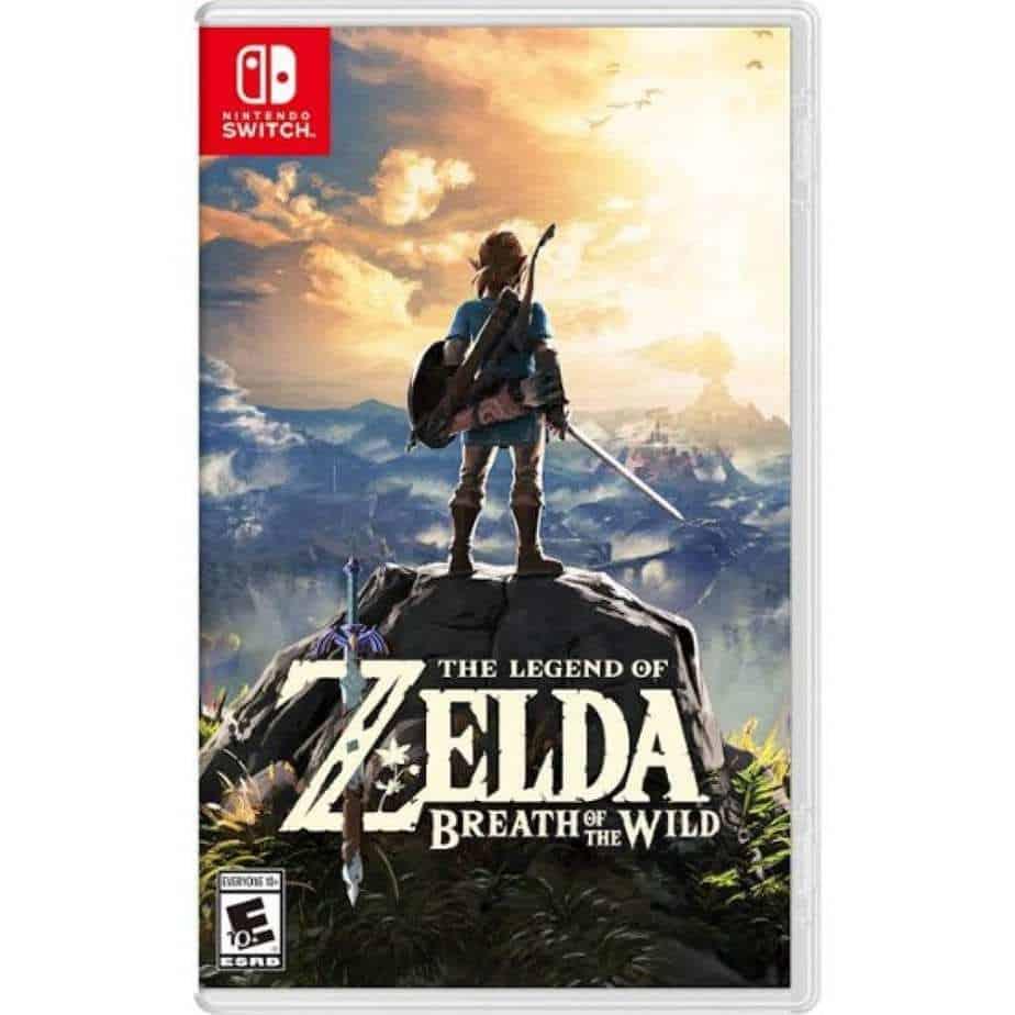 Zelda BOTW - nintendo switch games for geeks - Zelda breath of the wild