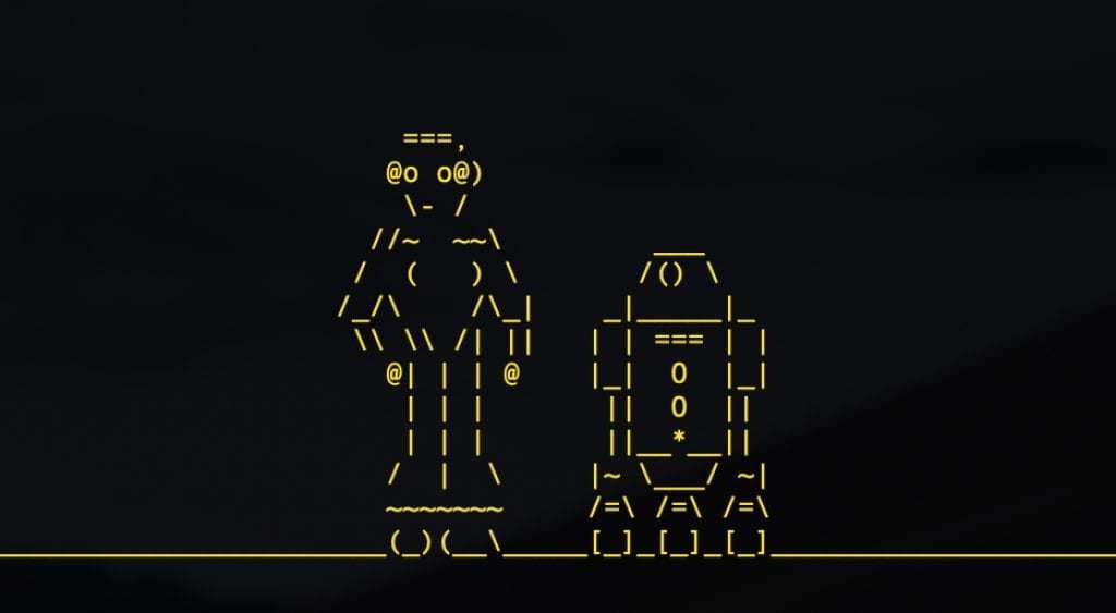 ascii Star Wars - cool computer trick for computer geeks
