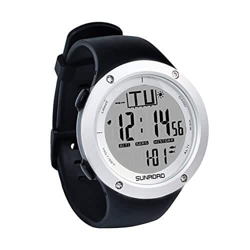 Sun Road Fishing Watch - Great Gifts for People Who Love to Fish