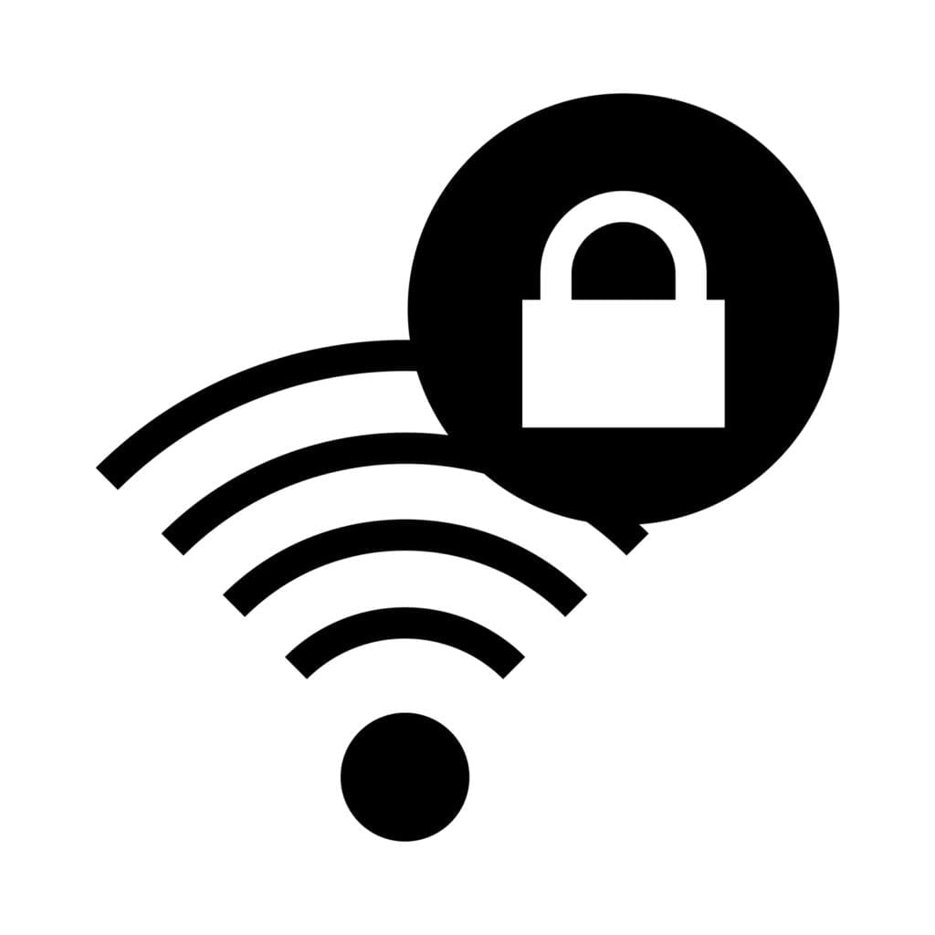 Forgot my wifi password - how to get my wifi password - wifi image with lock - the geek street
