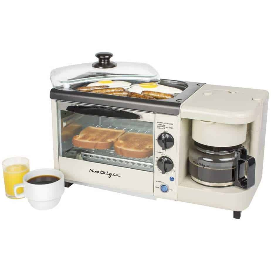 camping breakfast stations - nostalgia breakfast stations - kitchen gadgets for geeks